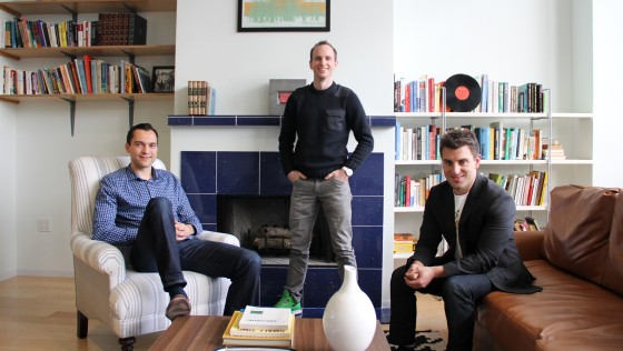 Brian Chesky, Nathan Blecharczyk e Joe Gebbia